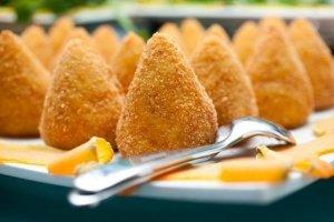 arancini di riso della Sicilia orientale